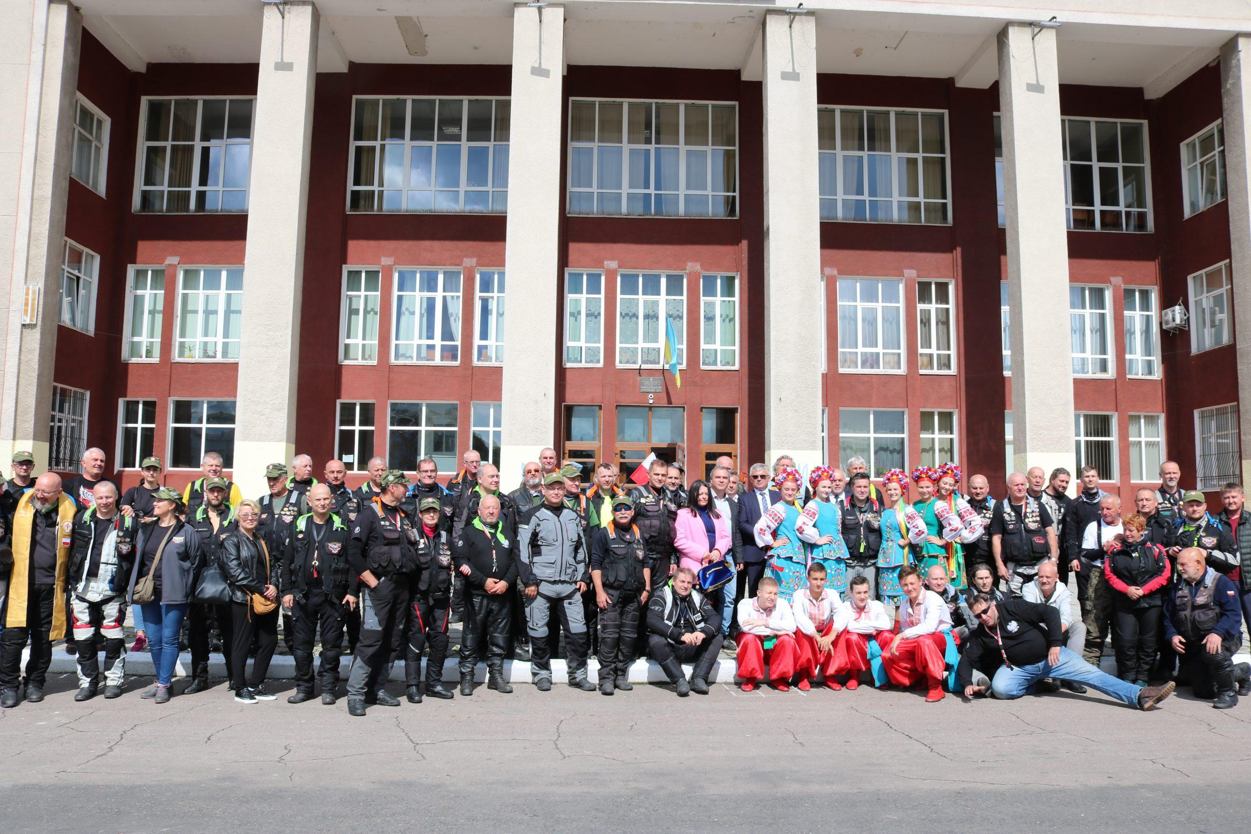 30 серпня Червоноград зустрів XXI міжнародний мотоциклетний Катинський тур.